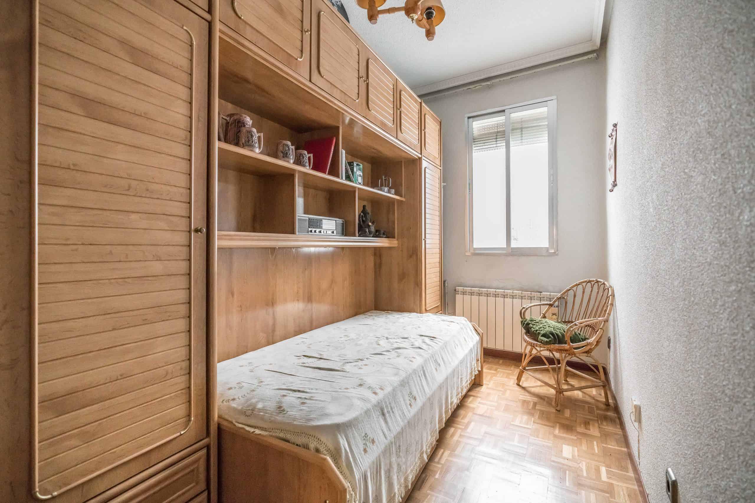 Agencia Inmobiliaria de Madrid-FUTUROCASA-Zona ARGANZUELA-EMBAJADORES-LEGAZPI -calle Guillermo de Osma 4 DORMITORIO2 (2) (Copy)