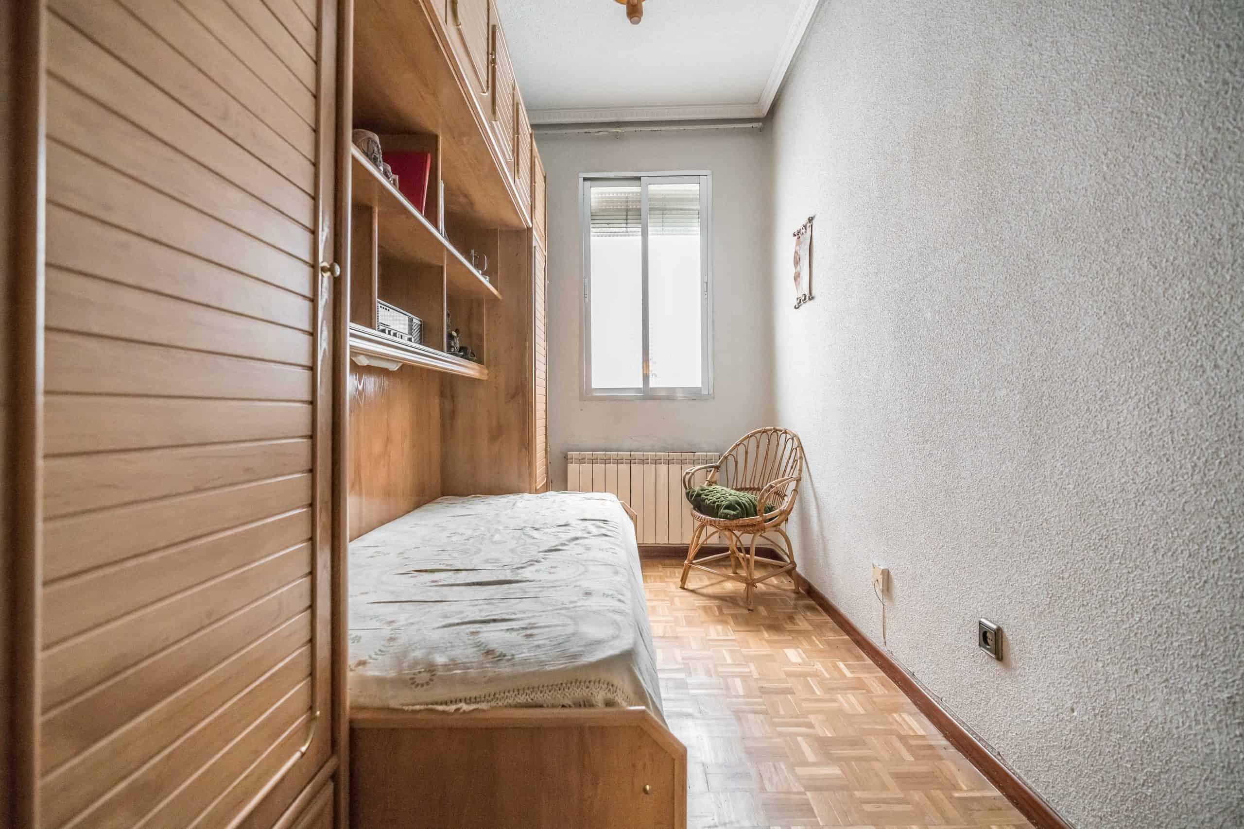 Agencia Inmobiliaria de Madrid-FUTUROCASA-Zona ARGANZUELA-EMBAJADORES-LEGAZPI -calle Guillermo de Osma 4 DORMITORIO2 (3) (Copy)