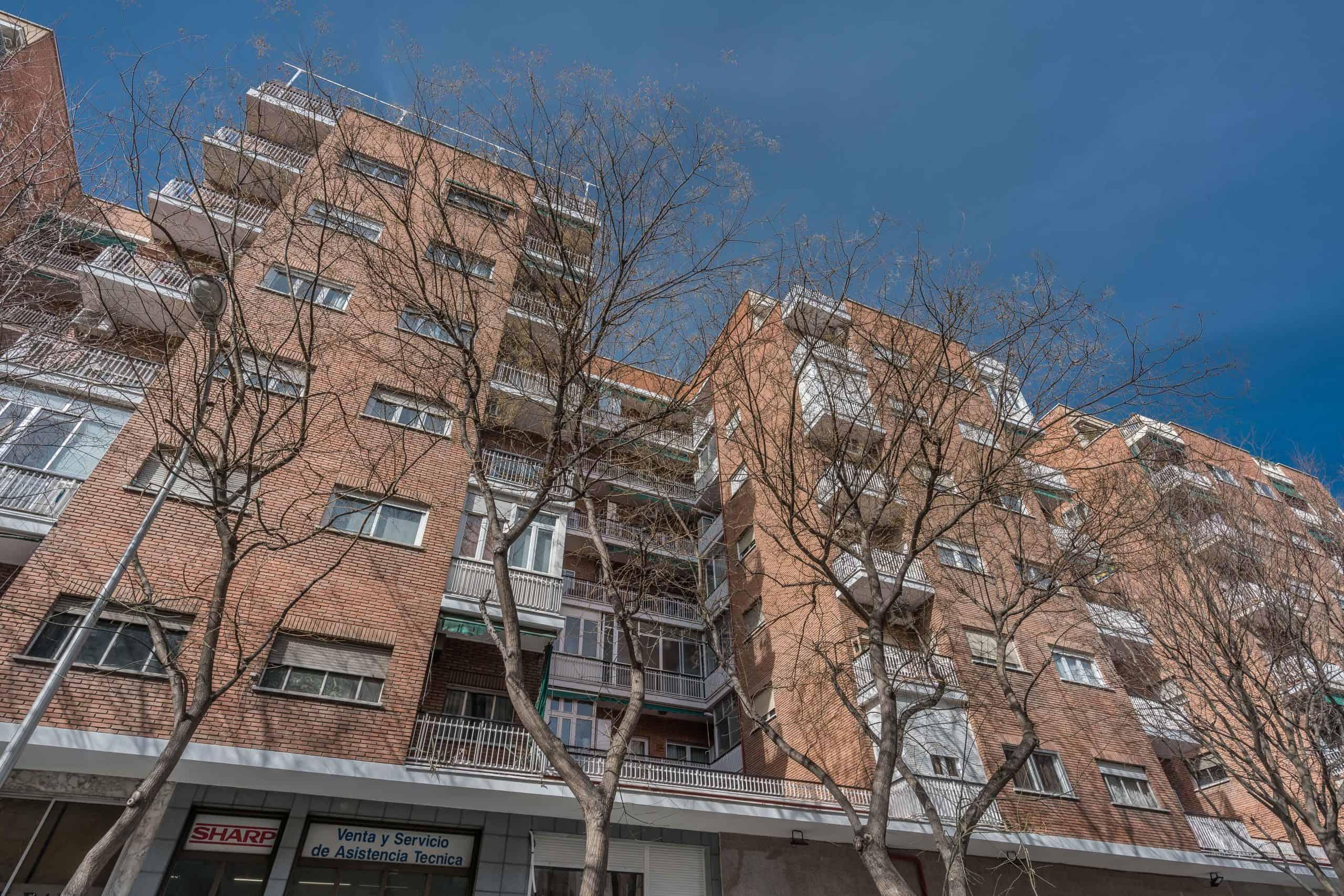 Agencia Inmobiliaria de Madrid-FUTUROCASA-Zona ARGANZUELA-LEGAZPI -calle Jaime Conquistador 48- Fachada 1