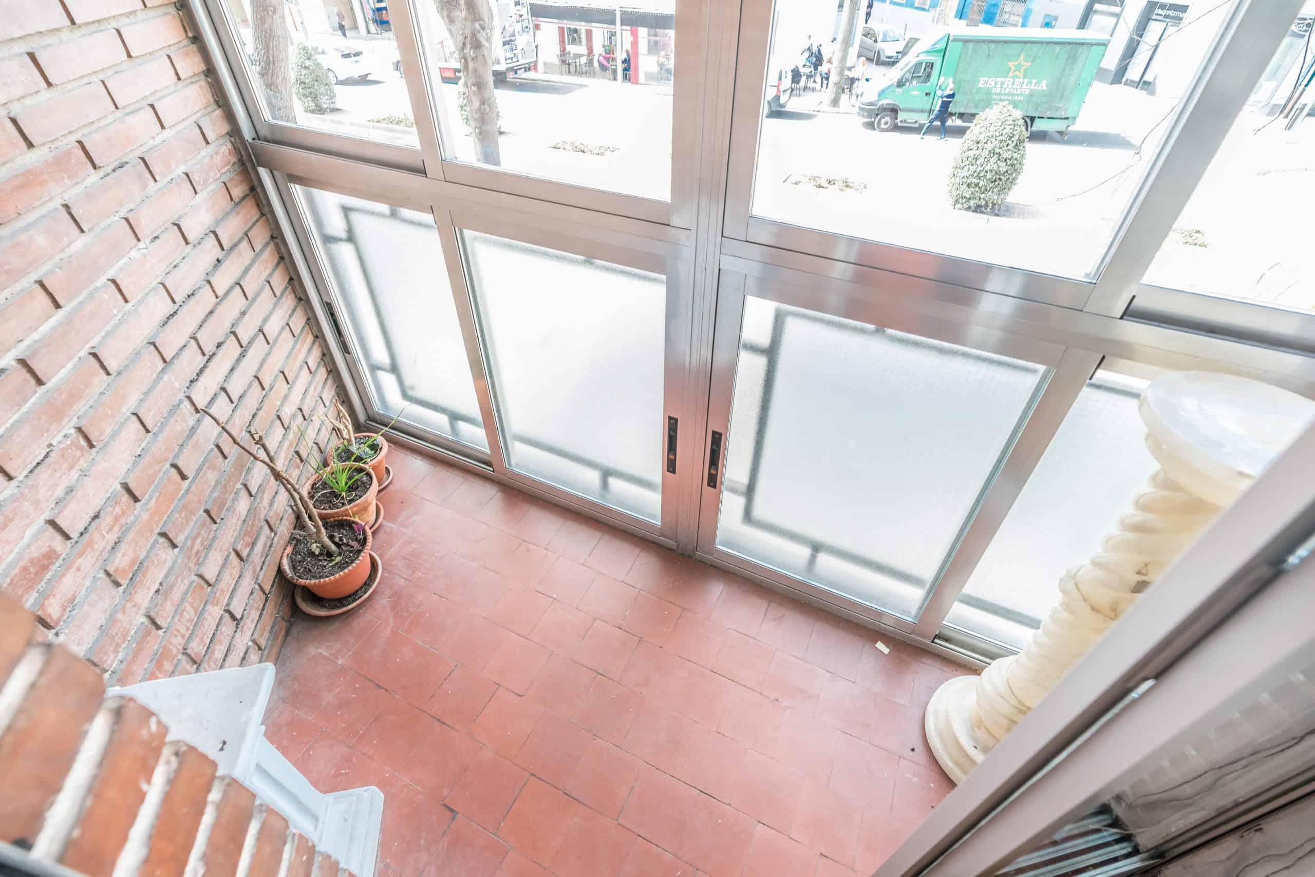 Agencia Inmobiliaria de Madrid-FUTUROCASA-Zona ARGANZUELA-LEGAZPI -calle Jaime Conquistador 27- Balcón 1