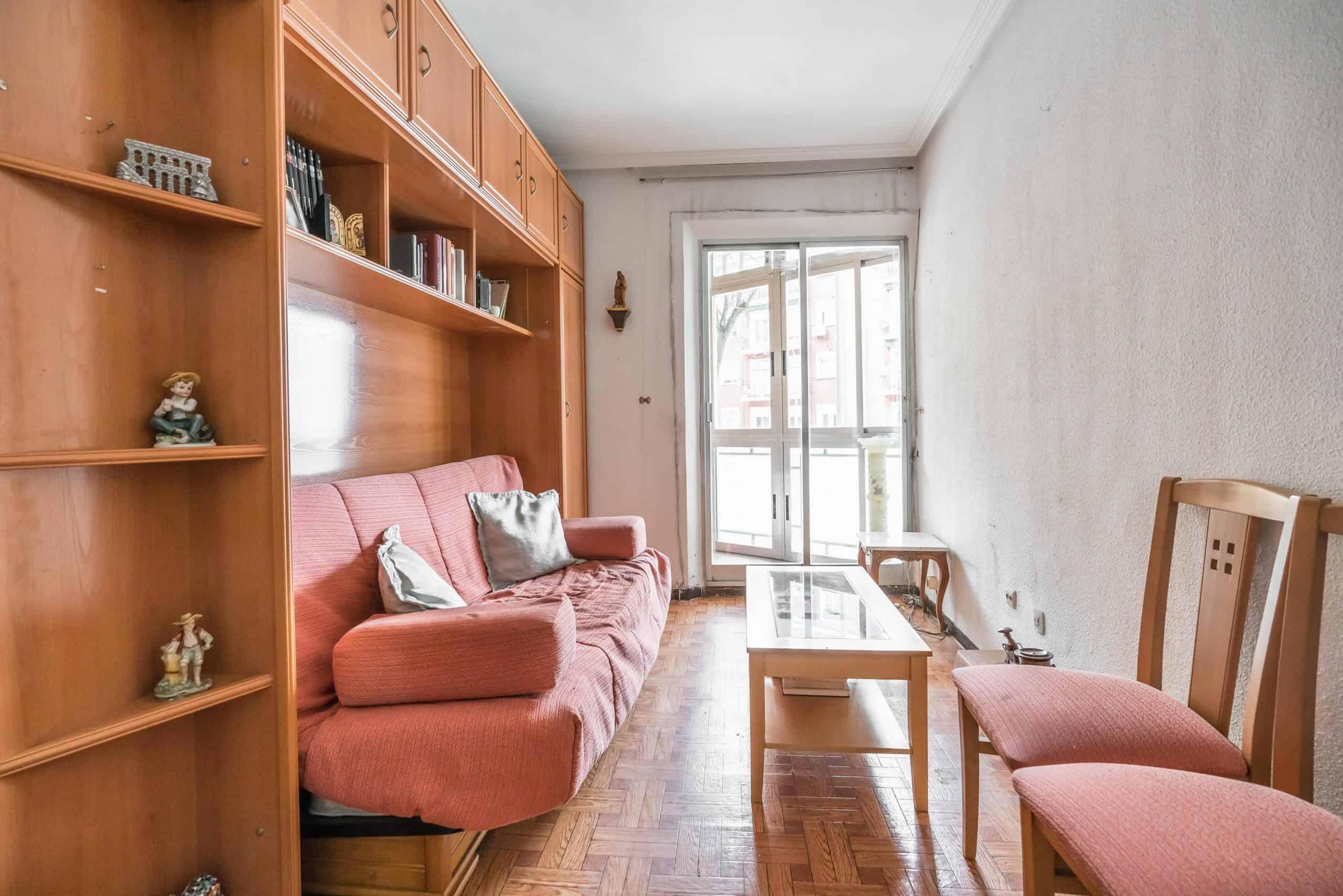 Agencia Inmobiliaria de Madrid-FUTUROCASA-Zona ARGANZUELA-LEGAZPI -calle Jaime Conquistador 27- Salón 2