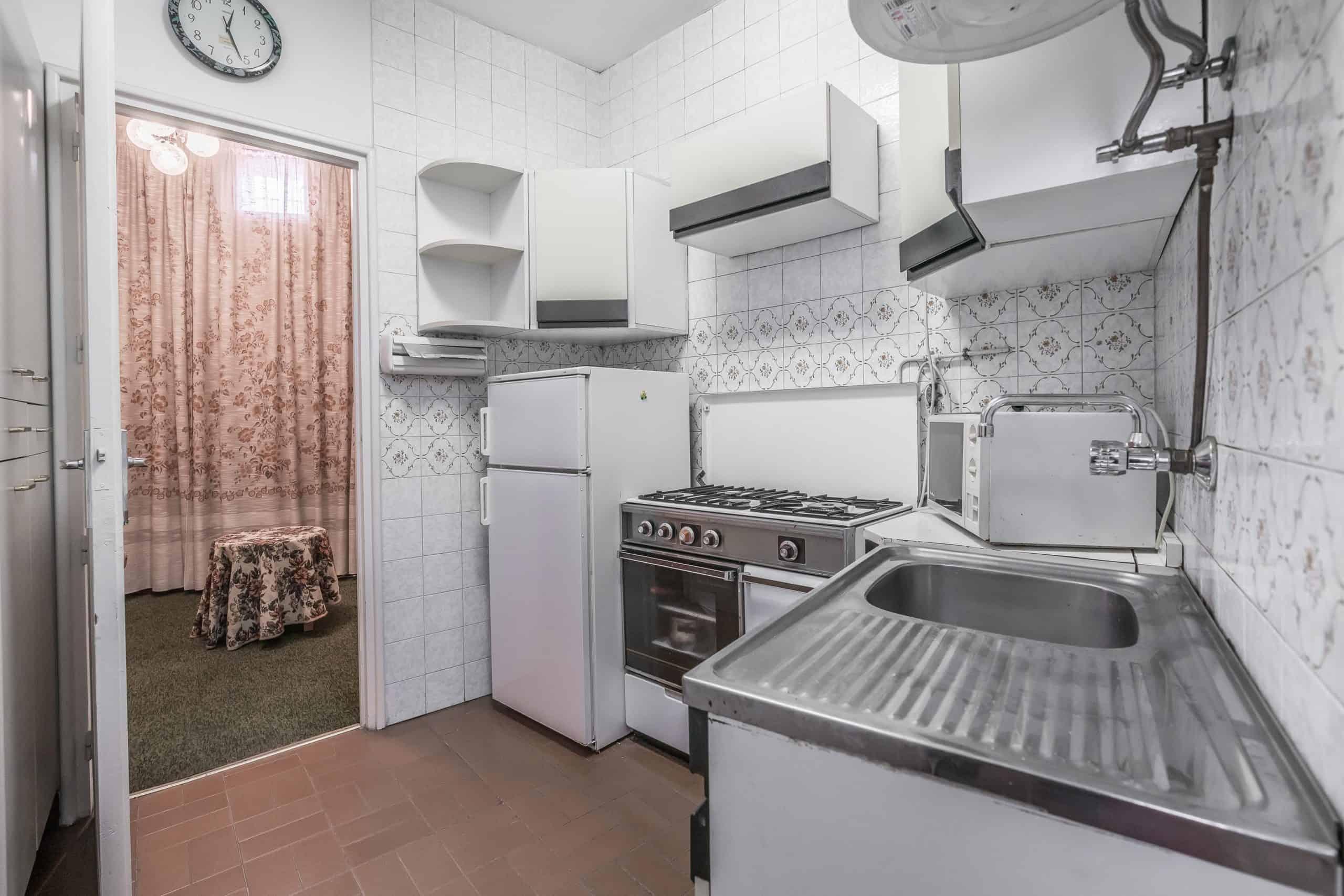 Agencia Inmobiliaria de Madrid-FUTUROCASA-Zona ARGANZUELA-EMBAJADORES-LEGAZPI -plaza General Vara del Rey- cocina